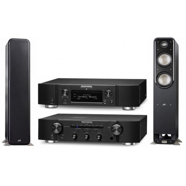 SISTEMA STEREO AMPLIFICADOR PM-6006 + NETWORK AUDIO PLAYER NA6006 +